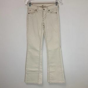 7 For All Mankind Flare Corduroy Jeans